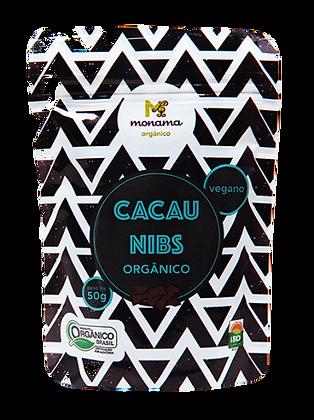 NIBS DE CACAU ORGÂNICO MONAMA 50G