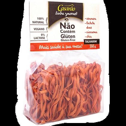 Talharim Cenoura, Batata Doce, Cúrcuma e Chia Casarão