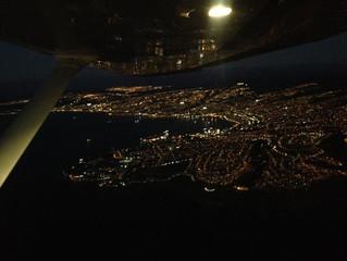 Curso para vuelo visual Nocturno 2016