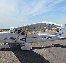 Llegada Cessna 172 KSK