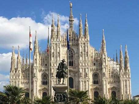 イタリア、ミラノから。