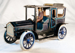 DTT0026 Carette Limousine - Rare blue colour Pic 18
