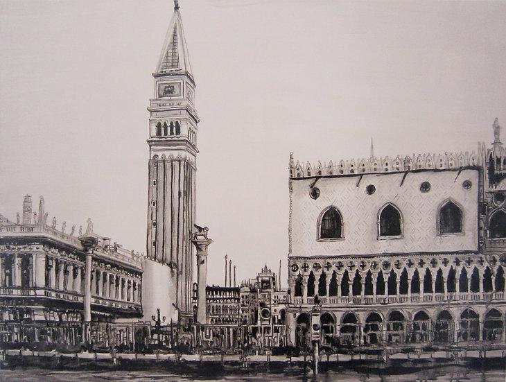 Venice - Campanile di San Marco - Venice Italy