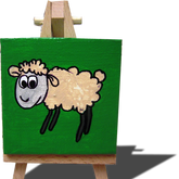 sam the sheep on green.png