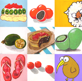 Kiwiana Icons