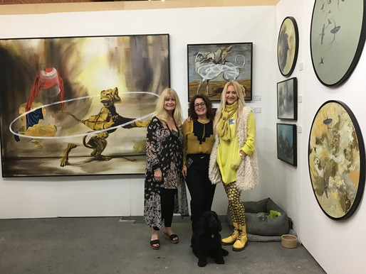 The Dragon Gallery At Sussex Art Fairs (West)