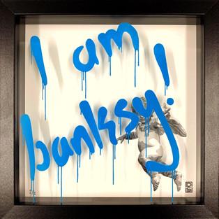 I am Banksy - Sky Blue