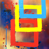 SOLD - Abstract squares