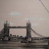 London - Tower Bridge Mono