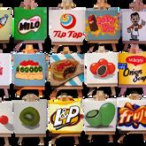 Kiwiana Food and Drink Icons