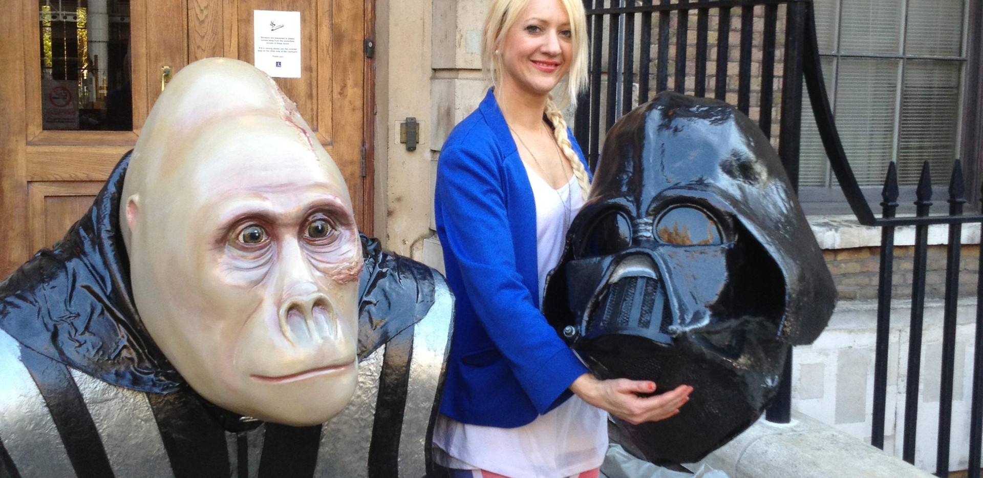 The Great Gorillas Project. Darth Vader