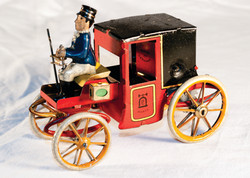 DTT0023 Marks 420 Red Cart with Driver pic 12