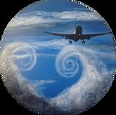 Air NZ NZ39 vapour clouds