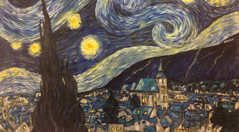 A Starry Night HOH Dinner 1
