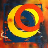 SOLD - Abstract circles