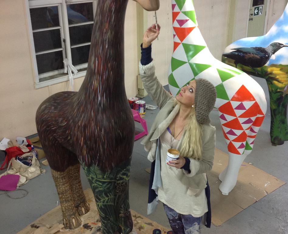 Sponsored by Dulux NZ Moa Giraffe by Man