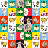 Sheep Collage