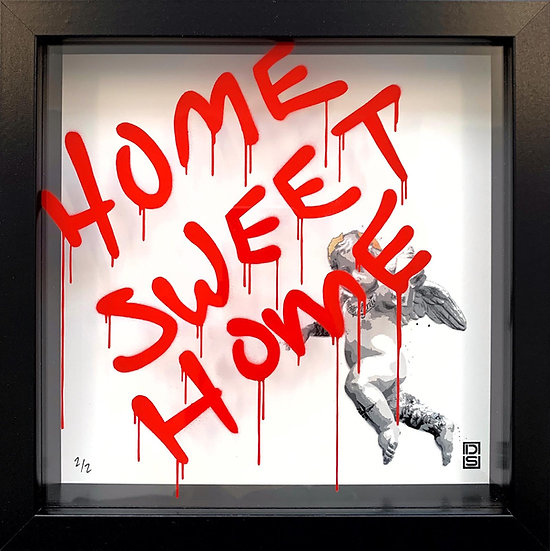 Home Sweet Home - Shock Red