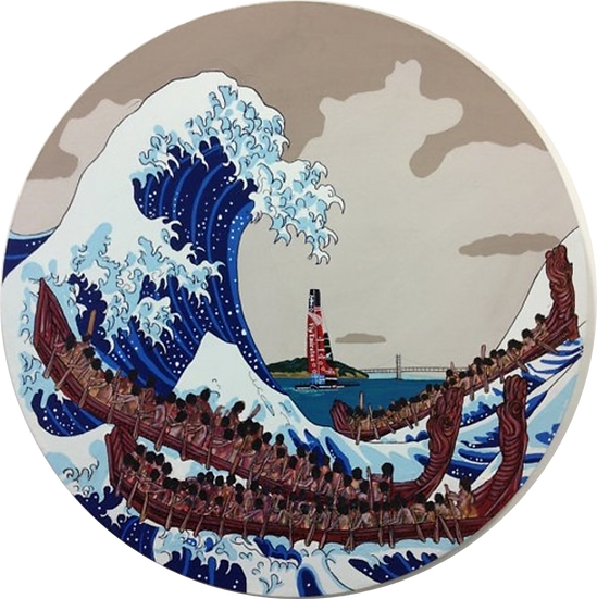 The Great Wave - Kia Kaha Team NZ