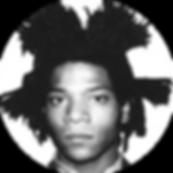 Jean-Michel basquiat bw circle.png