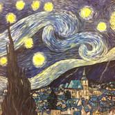 A Starry Night - In Brasov Romania