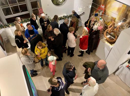 Christmas Winter Contemporary Exhibition