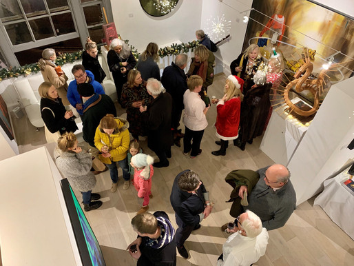 Christmas Winter Contemporary Exhibition