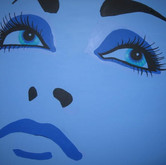 SOLD - Blue Lady
