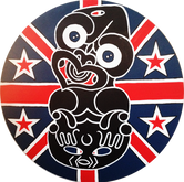 NZ Flag Tiki