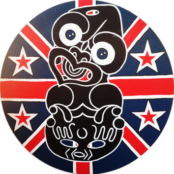 NZ Flag Tiki