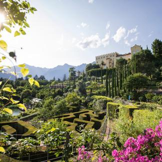 Botanischen Gärten von Schloss Trauttmansdorff