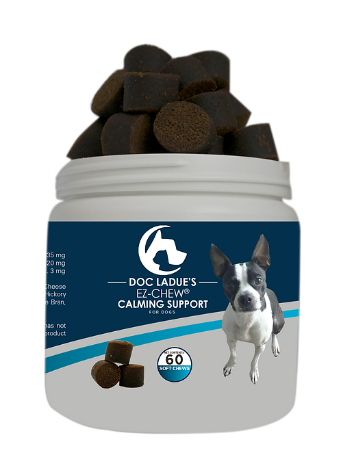 Betsy's E-Z Chew Calming Support For Dogs 60ct