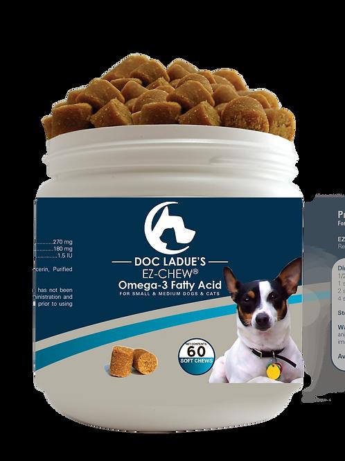Bitsy's EZ-CHEW Omega Soft Chews SM/MED Dogs 60ct