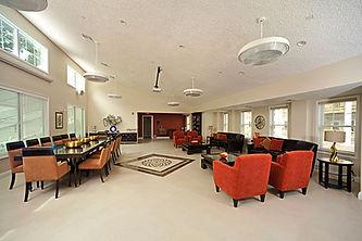 Interior view of the Leonard Kohl Fitness Pavilion, Monsey, NY.