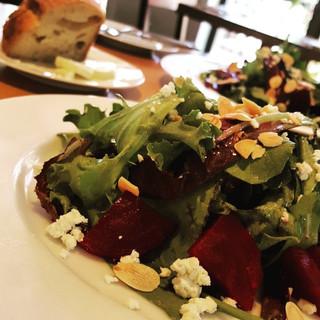 Pickled-Roasted Beet Salad