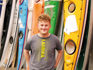 Floyd Chapman, Trainee Production Assistant at Sea Kayaking UK