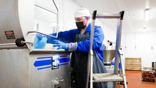 Burger Master and Sausage production at Llechwedd Meats