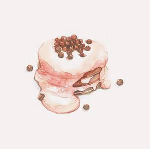 Pearl Milk Pancake