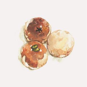 Yolk Pastries