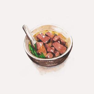 Pig Blood Soup