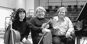 European Fine arts Trio with Tomasz Tomaszewski, violin and François Killian, piano