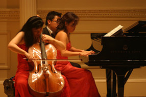 Recital at Carnegie Hall in New York with pianist Beatrice Long