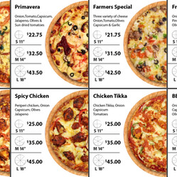 Digitel Pizza Manu Board