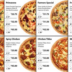Digitel Pizza Manu Board