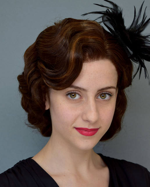 1930s Styled and applied lace front wig
