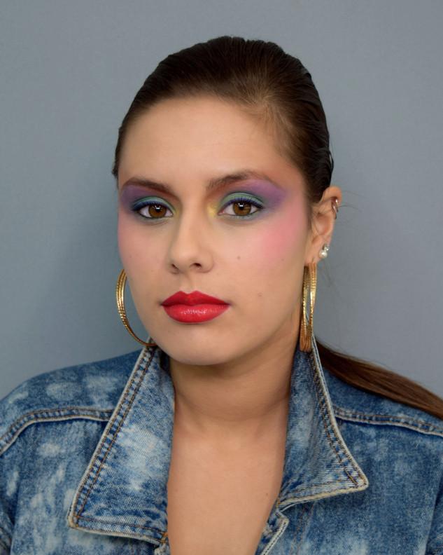 1980s Inspired by makeup artist Tyen