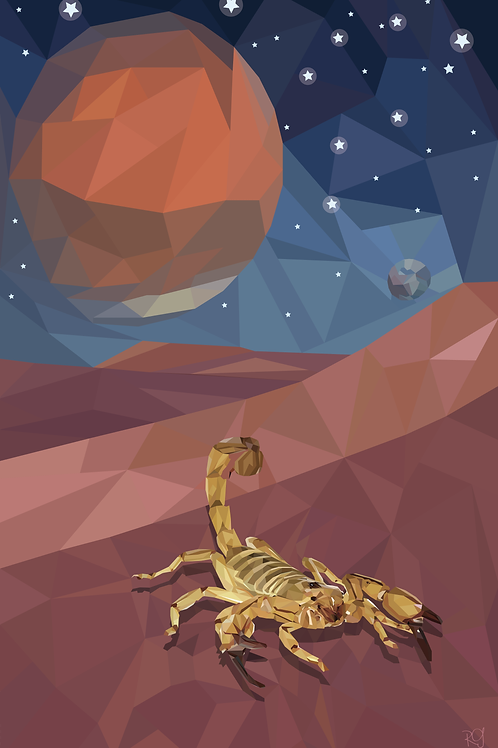 Scorpio Print
