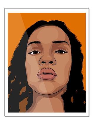 I really like framing my digital illustr