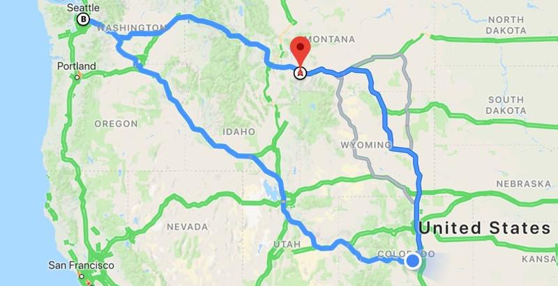 Road Trip Report