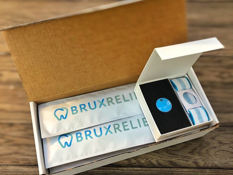 BruxRelief Starter Kits Shipped